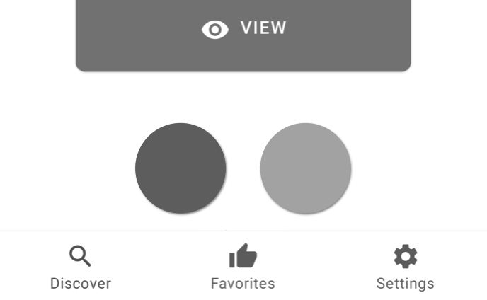 Grayscale buttons.