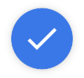Blue check mark.