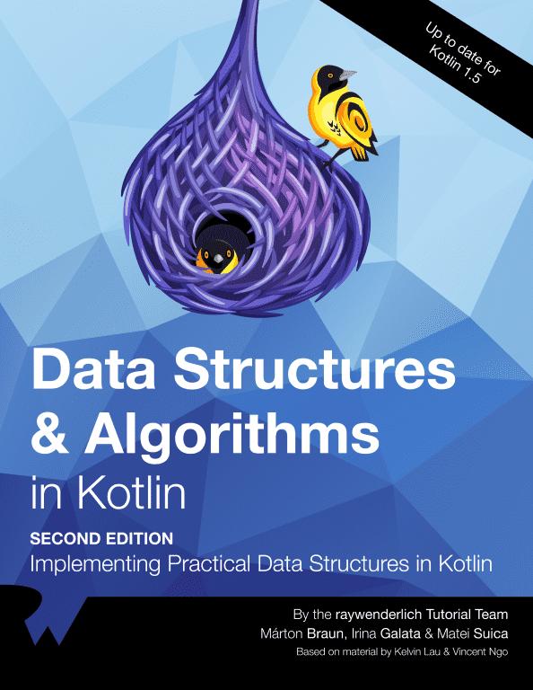 Data Structures & Algorithms in Kotlin Cover