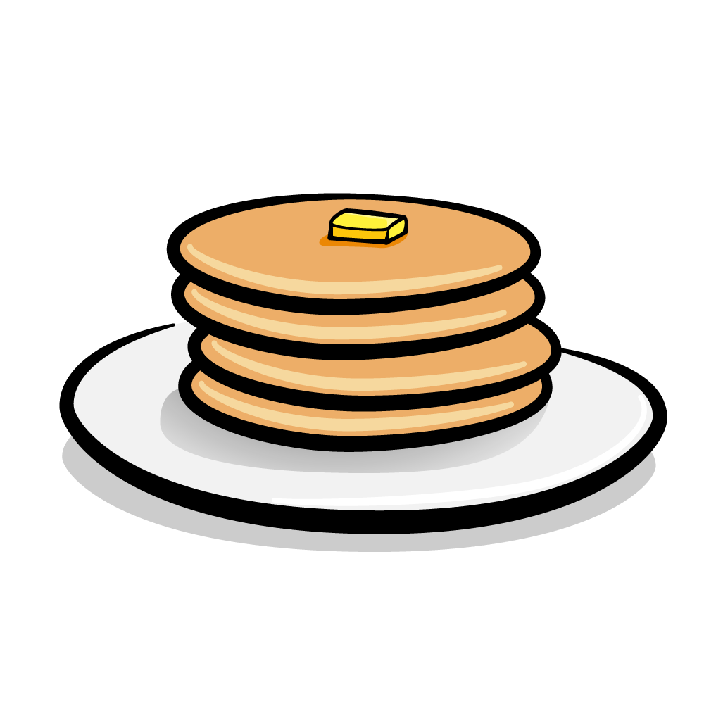 Good news: A stack of pancakes. Bad news: You may only eat the top-most pancake.