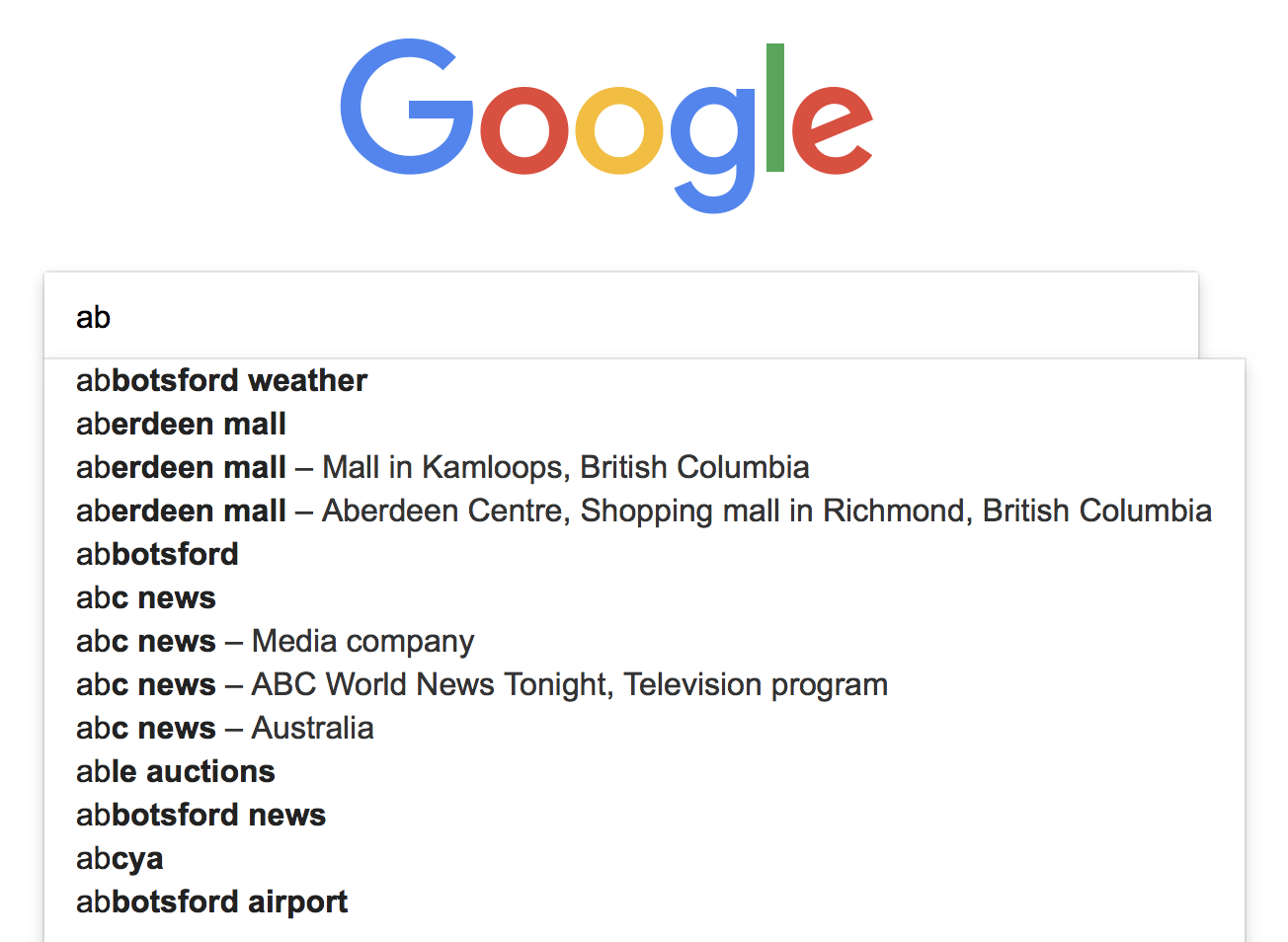 Imagine the number of words Google needs to parse