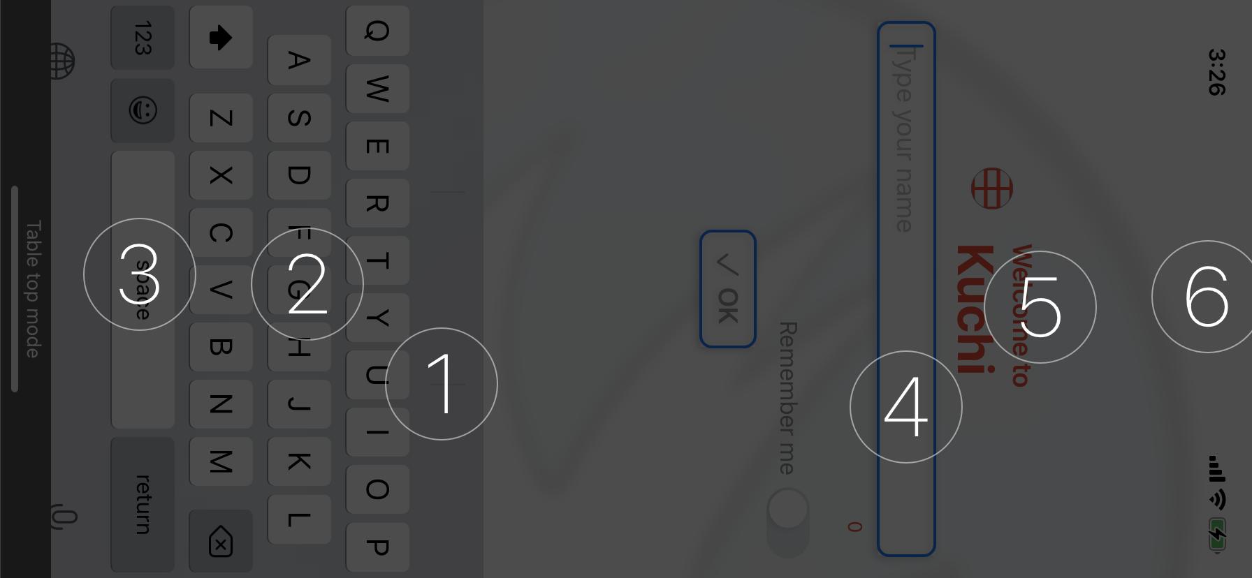 Braille Screen Input