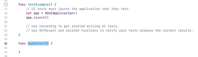Test samples