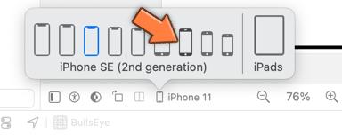 Choosing the device type