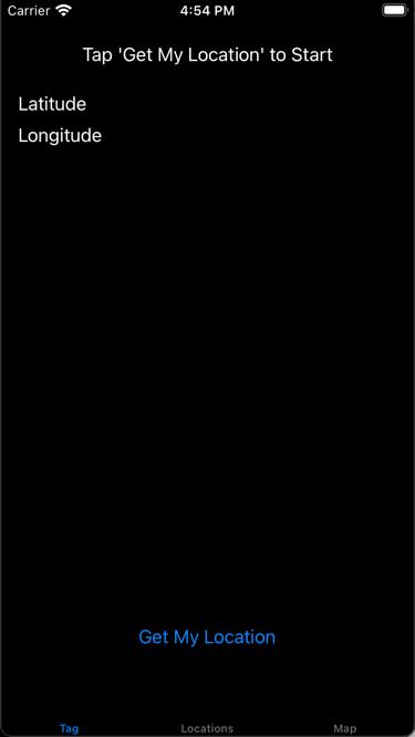 The app now has a dark theme