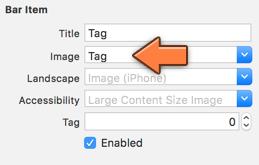 Choosing an image for a Tab Bar Item