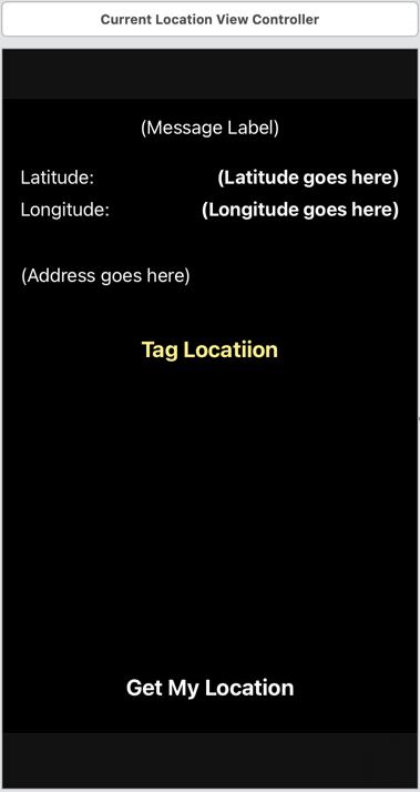 The updated main screen