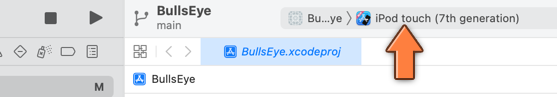 Making Xcode run the app on the Simulator