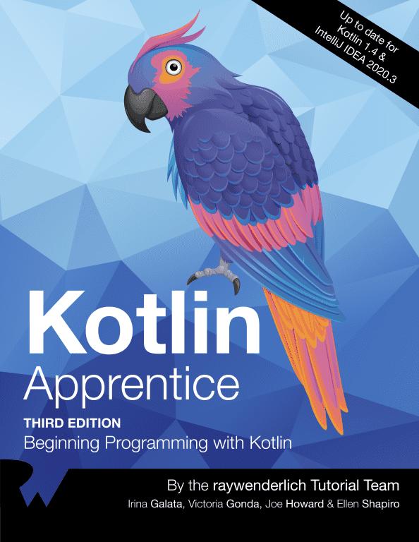 Kotlin Apprentice Cover