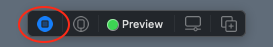The Live Preview button