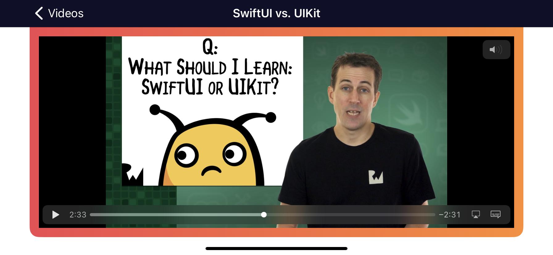 SwiftUI or UIKit?