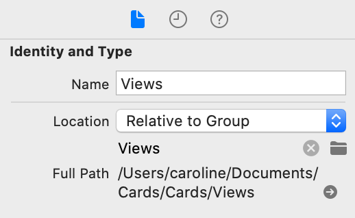 Identity and Type for group