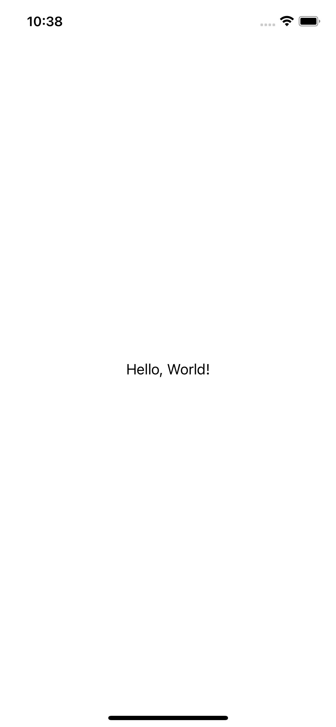 Hello, World