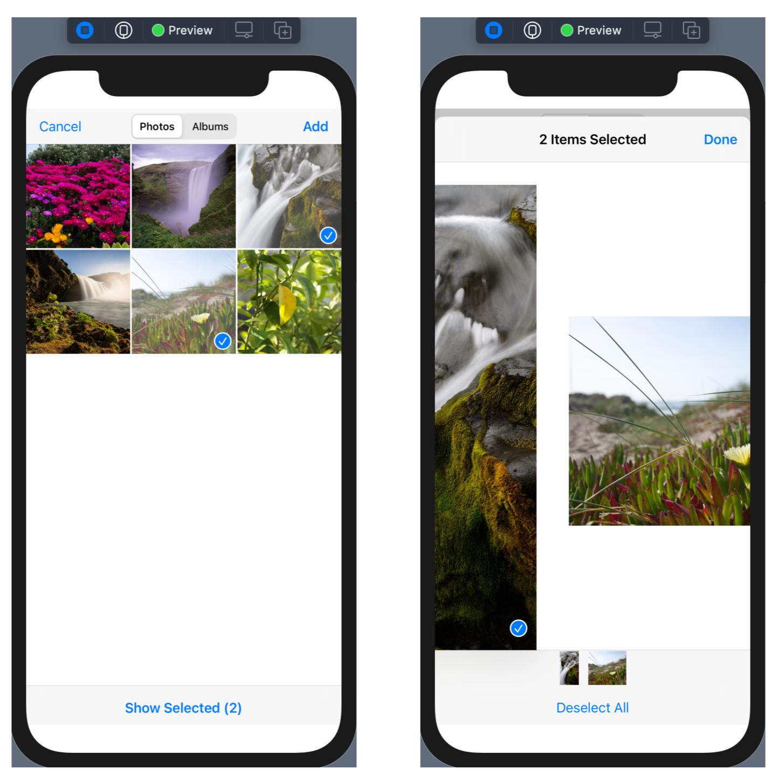 PhotosUI for photo picker