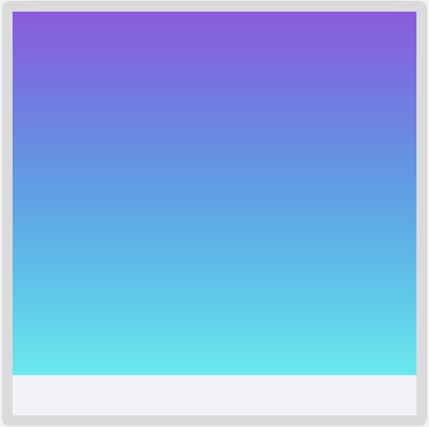 Gradient with background color
