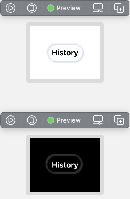 Embossed History Button