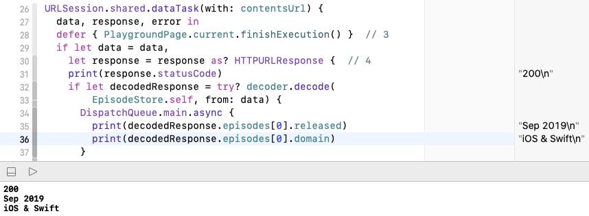 Custom decoding of contents response