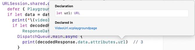 Type of url property is URL.