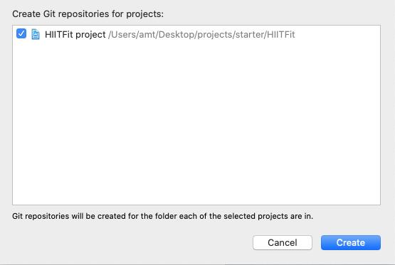 Create a Git repository.