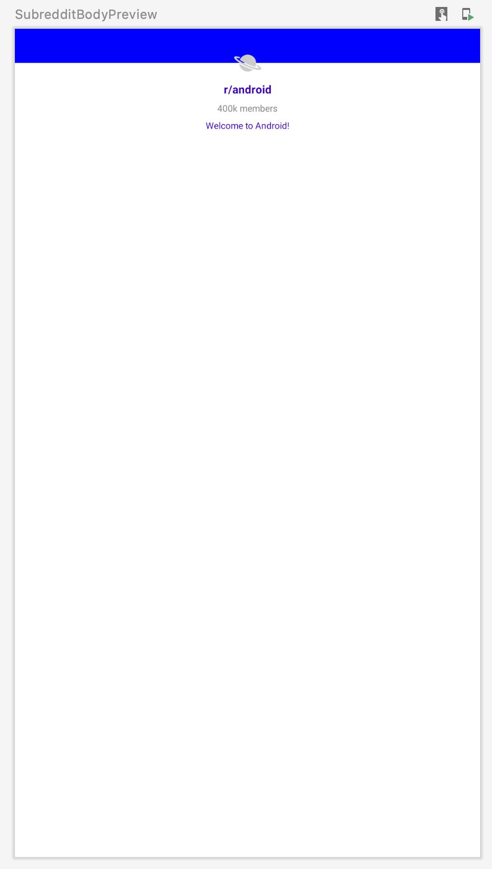 Subreddit Body Preview