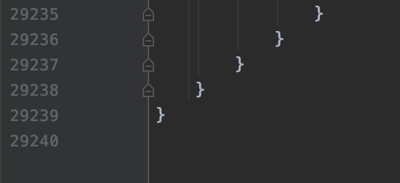Lines of Code in View.java