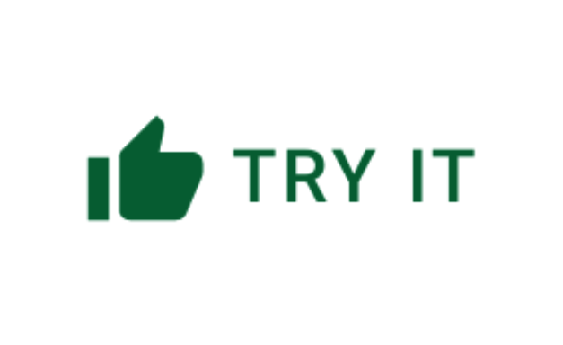 Try it button.