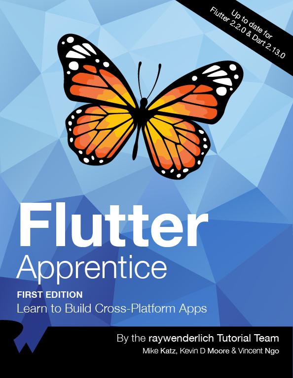 Flutter Apprentice Cover