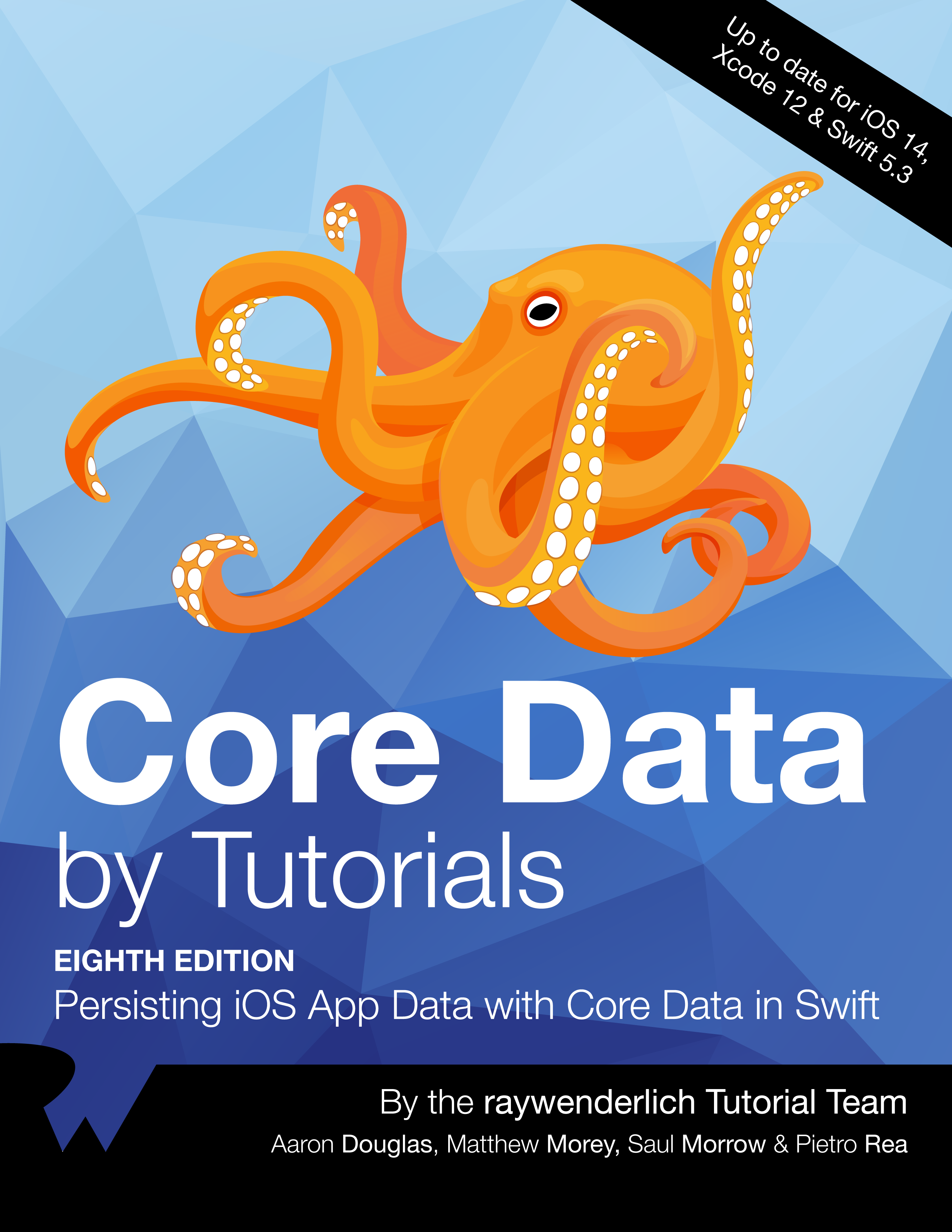 Core Data by Tutorials Cover