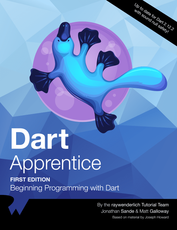 Dart Apprentice by Tutorials