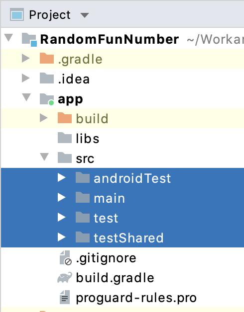 Figure 19.6 — App module build types