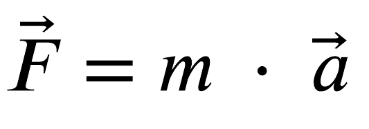 Figure 1.1 - Newton's second law