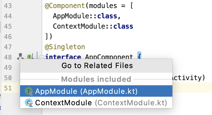 Figure 9.9 — Modules for a Components