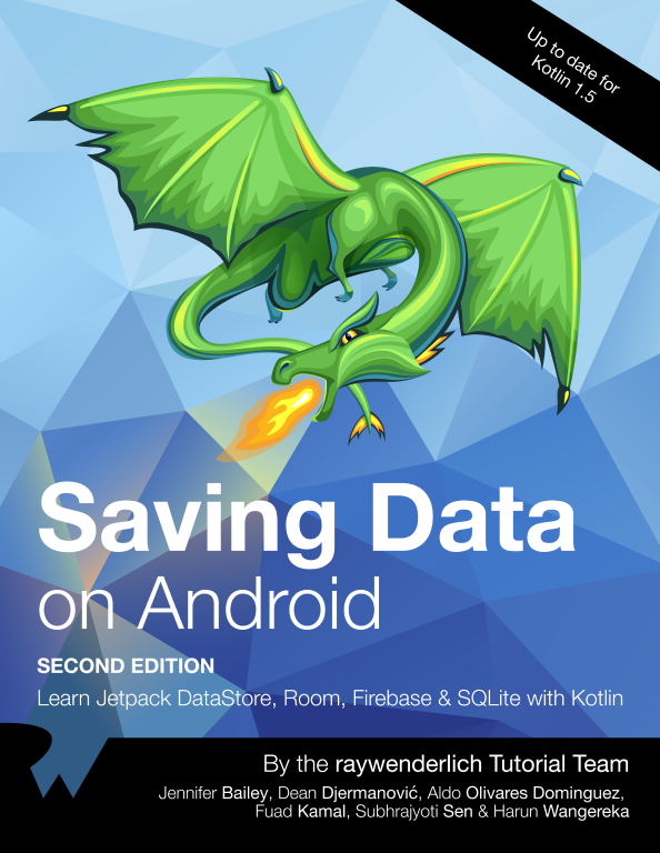 Saving Data on Android Cover