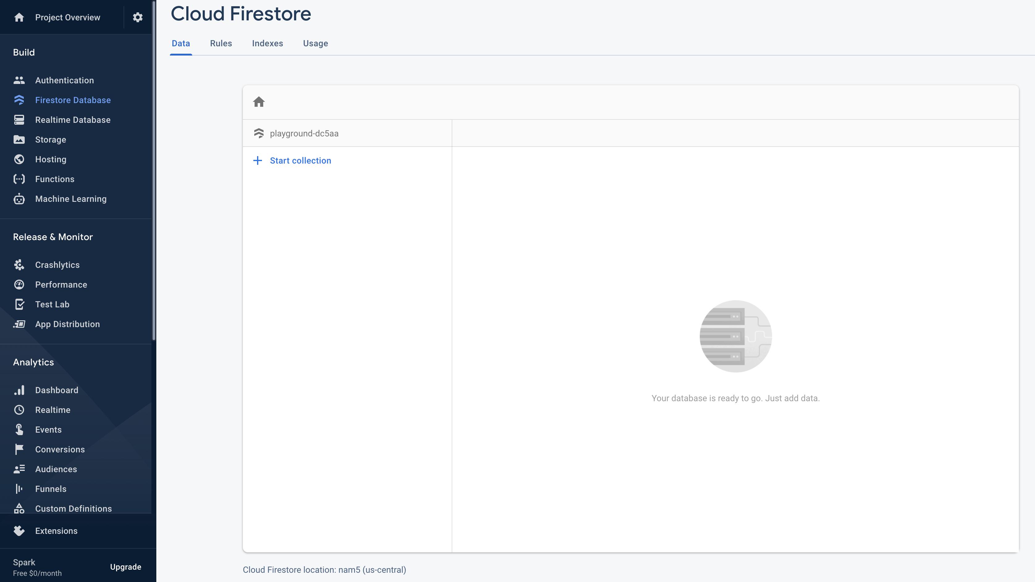 Firestore Database