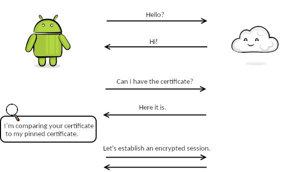 Figure 17.3 — Certificate Pinning
