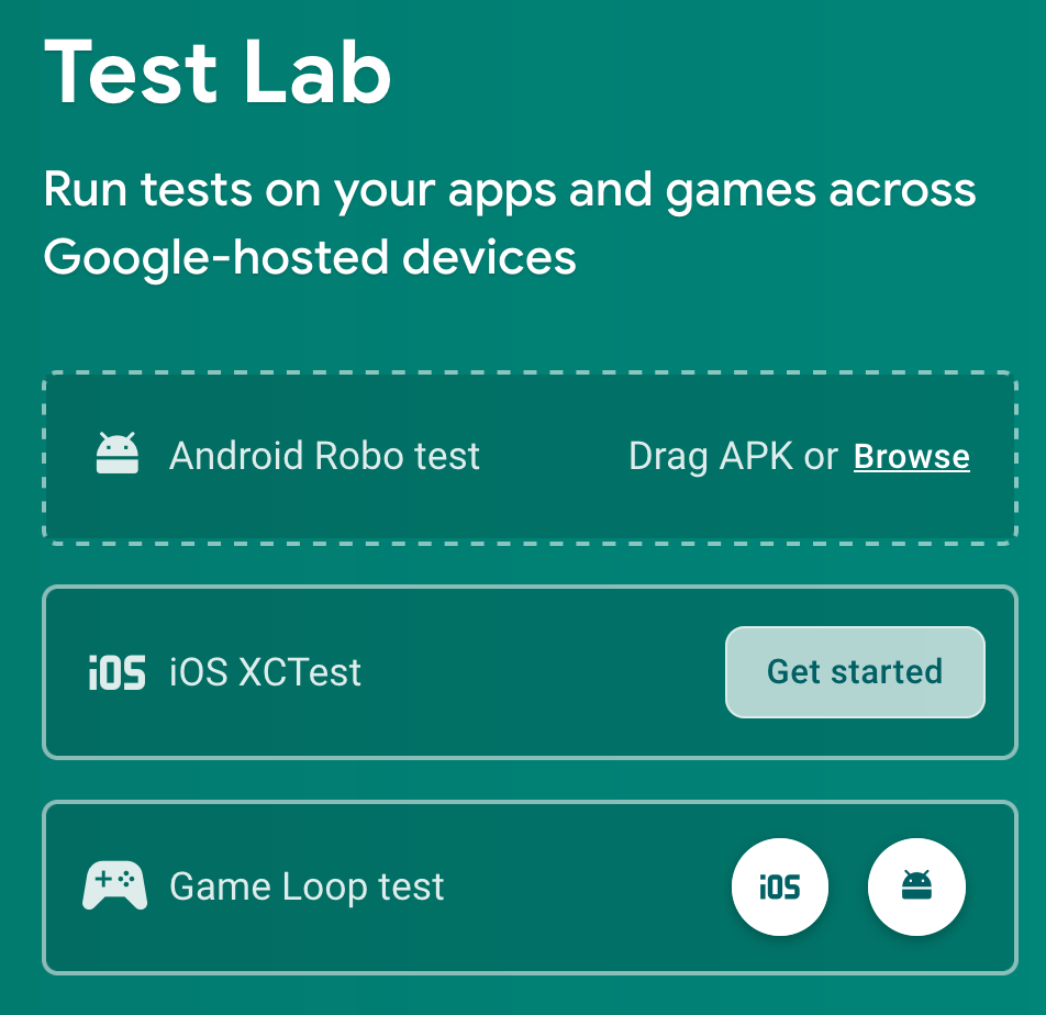 Figure 19.13 — Getting Started With Test Lab