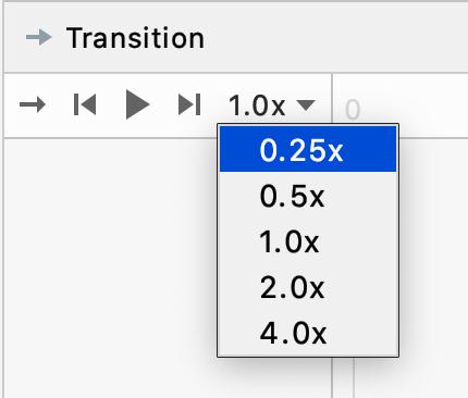 Figure 12.12 — Transition Speed