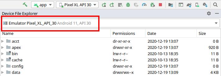 Figure 22.1 — File Explorer