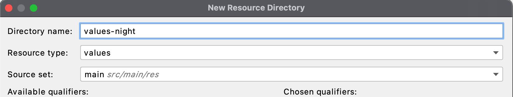 Figure 14.8 — New Resource Directory