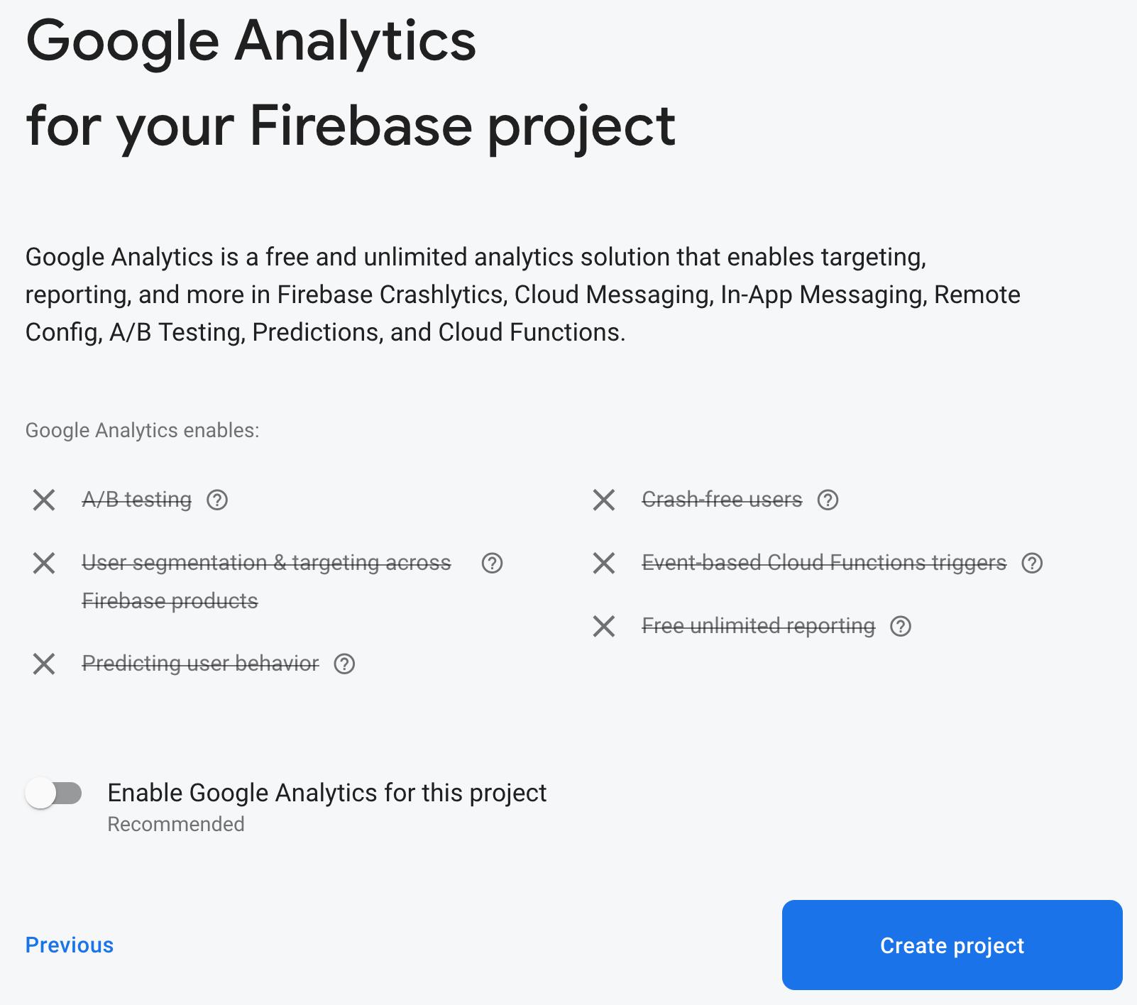 Figure 19.3 — Google Analytics Configuration