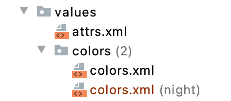 Figure 14.10 — Qualified Color Resources
