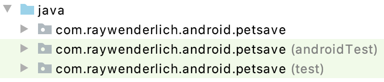 Figure 3.2 — Android Project Build Types
