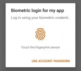 Figure 16.2 — Biometric Prompt