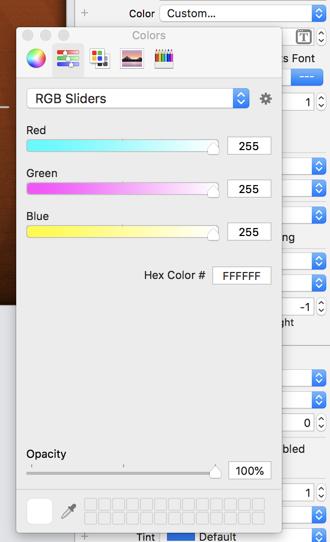 The Color Picker