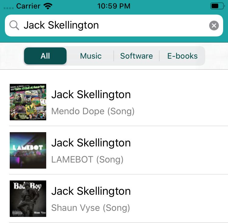 The app now downloads the album artwork