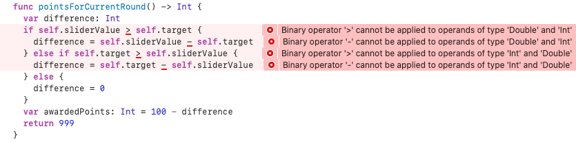 Xcode complaining loudly
