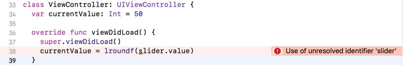 Xcode error message about missing identifier