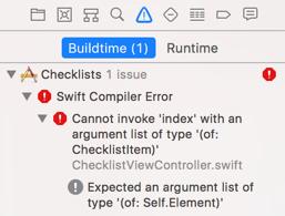 New Xcode error