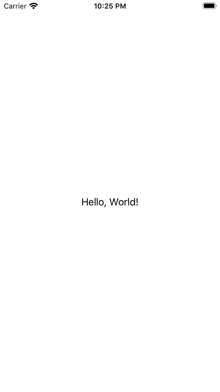 The initial EditChecklistItem screen