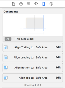 Auto Layout constraints for your image